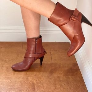 Marni rust color short bootie size 38.5 Italy us 8